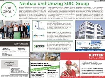 Neubau und Umzug SUIC Group in Memmingen