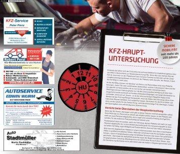 KFZ-Hauptuntersuchung