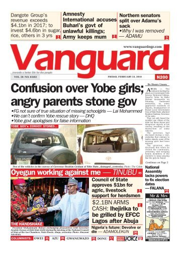 23022018 - Confusion over Yobe girls; angry parents stone gov