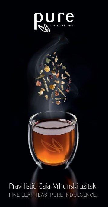 Pure Tea meni HR ENG