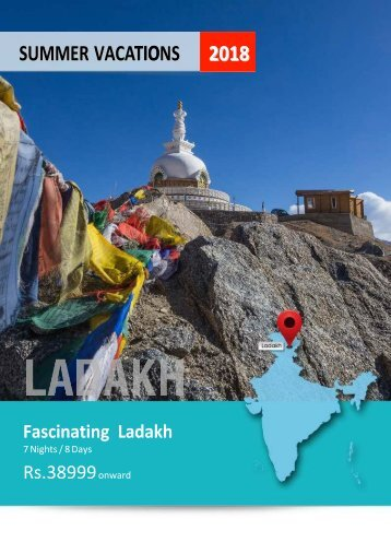 07N08D Fascinating Ladakh - valid for May-Jun18