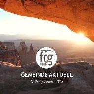 Gemeinde Aktuell - März/April 2018