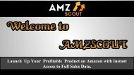 Free Amazon Products Revenue Calculator | AMZScout