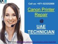 Canon Printer Repair Service Contact us +971-523252808