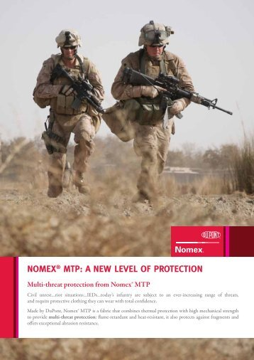 NOMEX® MTP: A NEW LEVEL OF PROTECTION - DuPont