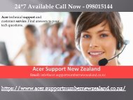 Acer Support Numbe NZ