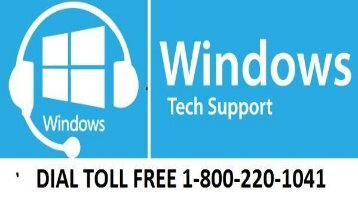 Windows Tech Support Dial 1-800-220-1041