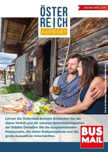 Österreich kompakt, Ausgabe März 2018