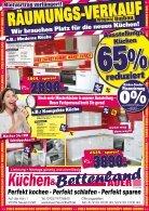 Räumungsverkauf bei Küchen- und Bettenland Auer in Neuenmarkt bei Kulmbach - Schnäppchen, Rabatte, zuschlagen! - Seite 4