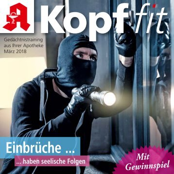 """Leseprobe """"Kopf-fit"""" März 2018"""
