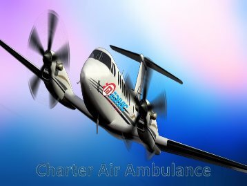 Best and More Reliable Air Ambulance Service in Bhopal