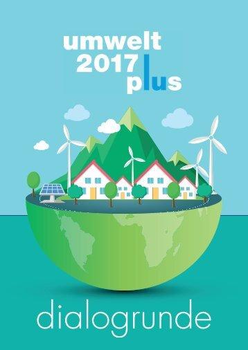 umwelt 2017 plus - Dialogrunde
