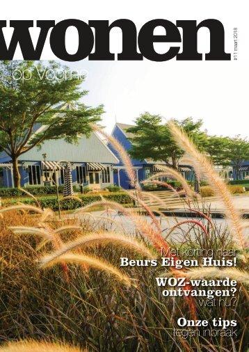 Wonen op Voorne, uitgave maart 2018