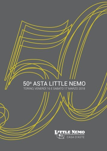 50a Asta Little Nemo