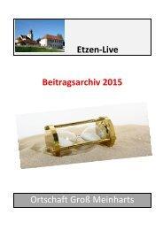 Groß Meinharts 2015