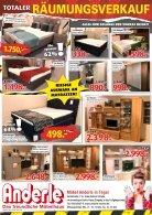 Blätterprospekt   Totaler Räumungsverkauf  - Page 2