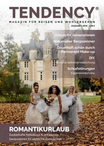 TENDENCY® Ausgabe 1/2018 - Vorschau
