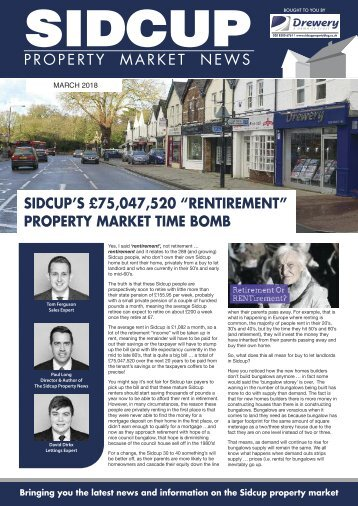SIDCUP PROPERTY NEWS - MARCH 2018