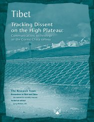 China's Railway Of Oppression In Occupied Tibet