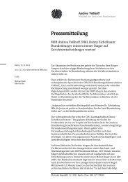 hier zum inhalt der pressemitteilung! - CDU Kreisverband Havelland