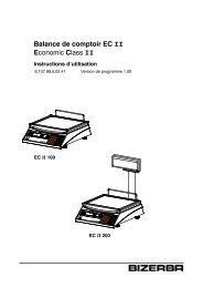 Mode d'emploi EC II - Obrecht Technologie AG