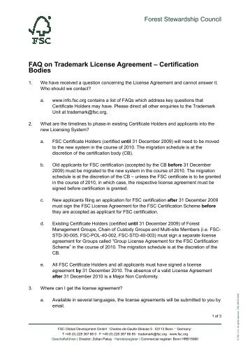 NFC FORUM, INC. TRADEMARK LICENSE AGREEMENT FOR THE ...