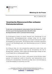 Mitteilung für die Presse - CDU Kreisverband Havelland