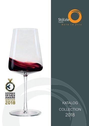 Stölzle Lausitz Catálogo 2018