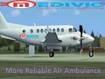 Get Life-Saving Air Ambulance Services in Kolkata with Doctor Team