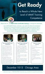 to Reach a Whole New Level of 4MAT Training ... - About Learning