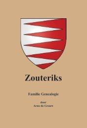 Zouteriks - genealogie