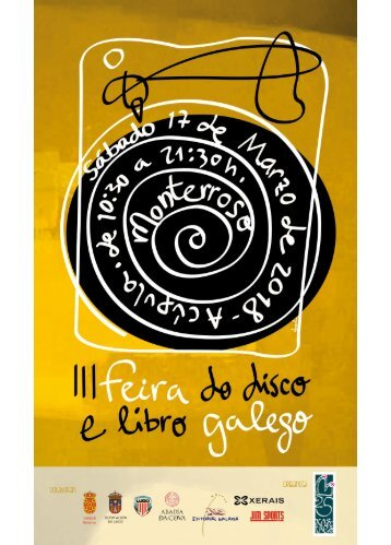 PROGRAMA III FEIRA DISCO E LIBRO GALEGO