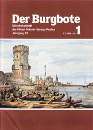 Der Burgbote 1989 (Jahrgang 69)