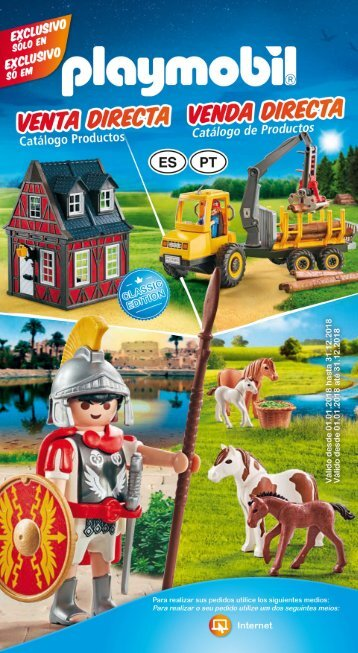 Catálogo playmobil 2018