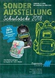 Schulsäcke 2018