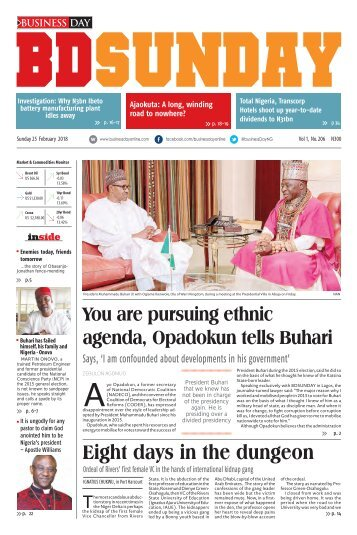 BusinessDay 25 Feb 2018