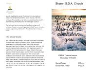BULLETIN - 2-24-18 - Sharon SDA Church