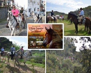 RUTA ECUESTRE LOS PICORROS 11-03-2017 ,ALBURQUERQUE - Asociación ecuestre Alburquerque
