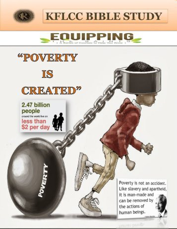 Poverty Is Created
