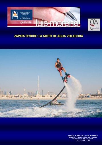 ZAPATA FLYRIDE LA MOTO DE AGUA VOLADORA - Nauta360