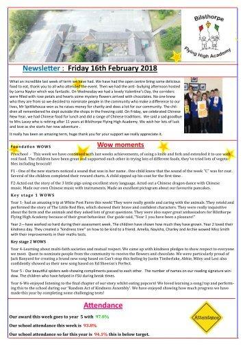 BFHA Newsletter 18 16.02.18