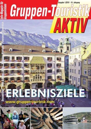 Gruppen - Touristik AKTIV 01/2018