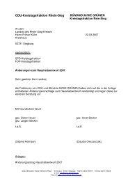 CDU-Kreistagsfraktion Rhein-Sieg - CDU Fraktion Rhein-Sieg