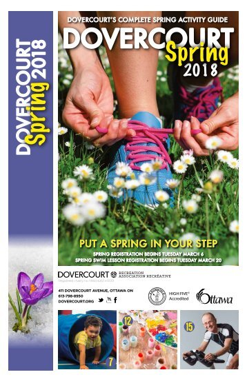 Dovercourt Spring 2018 program guide