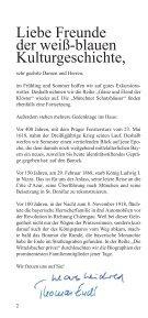 bavaricum@histonauten - Programmheft Frühling/Sommer 2018: Zecher, Zänker und Kanonen - Page 2