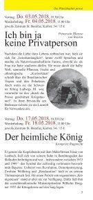 bavaricum@histonauten - Programmheft Frühling/Sommer 2018: Zecher, Zänker und Kanonen - Page 5