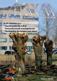 Wijkblad Aakwaa maart 2018