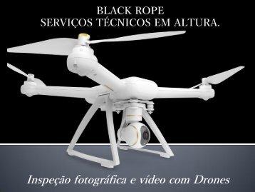 BLACK ROPE- Inspeção por Drones