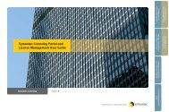 Symantec Licensing Portal and License Management User Guide