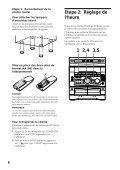 Sony MHC-R700 - MHC-R700 Consignes d'utilisation Espagnol - Page 6